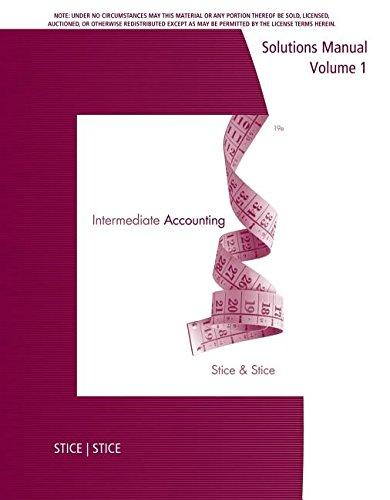 9781285092898: SM Intermediate Acc Vol 1