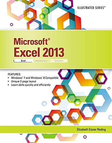 9781285093215: Microsoft Excel 2013: Illustrated Brief