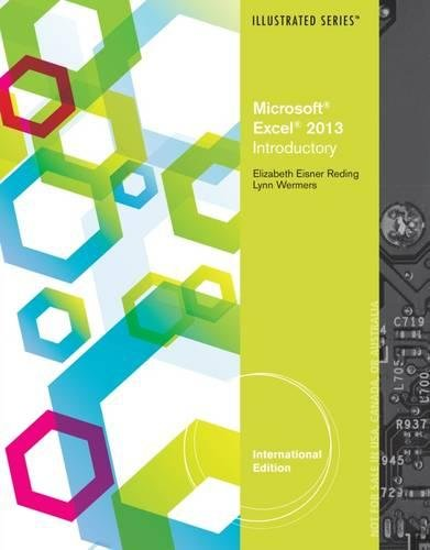 9781285093246: Microsoft (R) Excel (R) 2013: Illustrated Introductory, International Edition