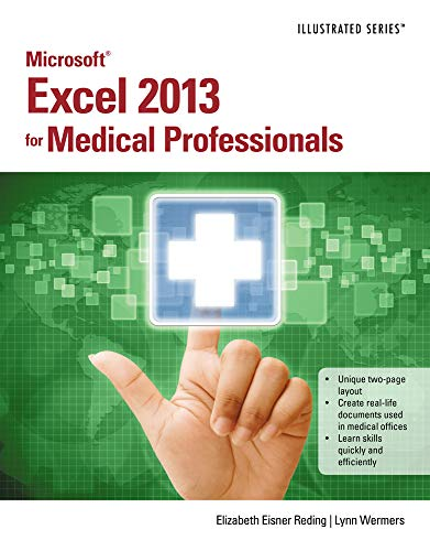 9781285093338: Microsoft Excel 2013 for Medical Professionals (Illustrated)