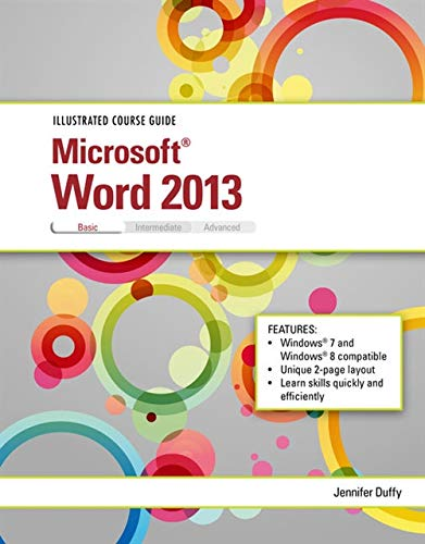 9781285093369: Illustrated Course Guide: Microsoft Word 2013 Basic