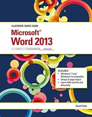 9781285093383: Illustrated Course Guide: Microsoft Word 2013 Advanced