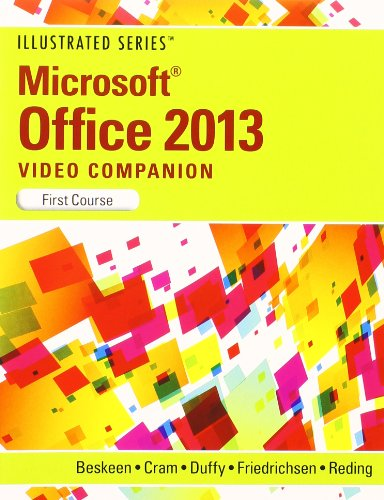 9781285093499: DVD Video Companion for Beskeen's Microsoft Office 2013: Illustrated Introductory, First Course