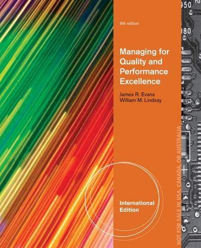 9781285094595: Managing for Quality and Performance Excellence