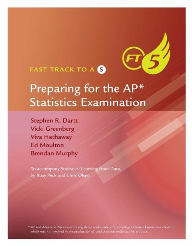 9781285094649: Fast Track to a 5 AP* Test-Prep Book for Peck's Statistics: Learning from Data (AP* Edition)