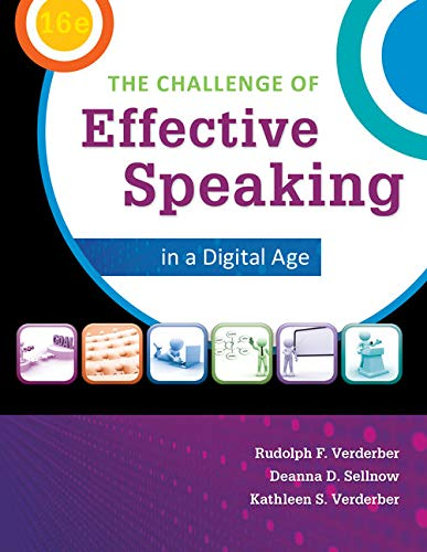 9781285094847: The Challenge of Effective Speaking in a Digital Age (MindTap Course List)
