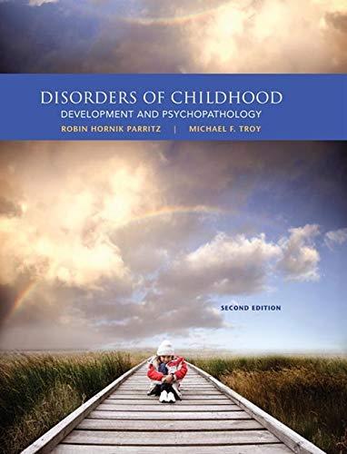 9781285096063: Disorders of Childhood: Development and Psychopathology