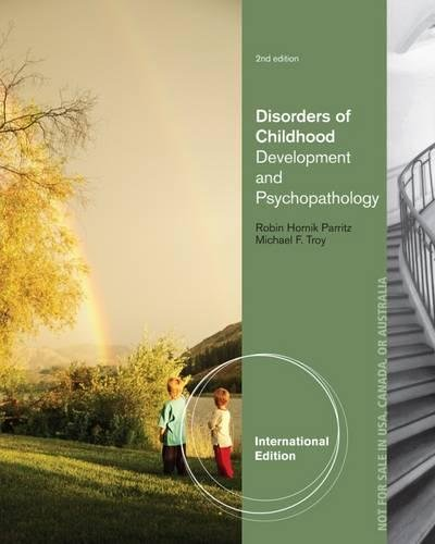 9781285096087: Disorders of Childhood Development and Psychopathology