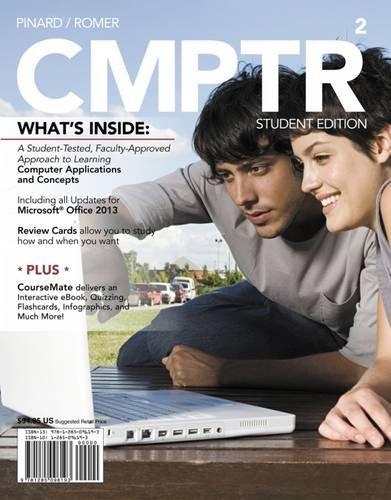 CMPTR 2 (New Perspectives): Pinard, Katherine T.,