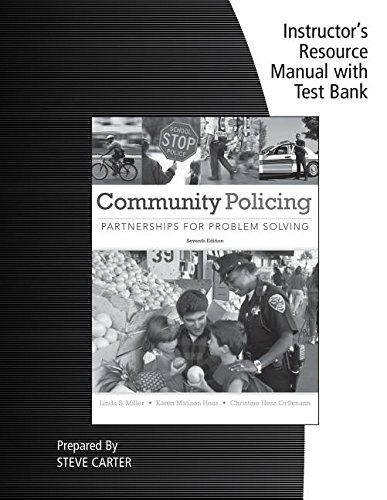 9781285096681: Irm Tb Comm Policing Part Prob