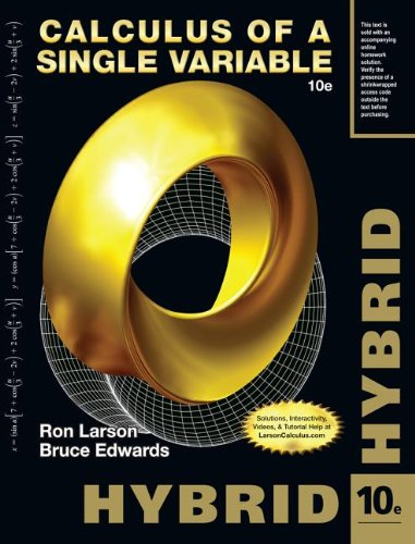 9781285097886: Calculus of a Single Variable, Hybrid (with Enhanced WebAssign Homework and eBook LOE Printed Access Card for Multi Term Math and Science)