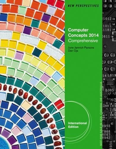 9781285098425: New Perspectives on Computer Concepts 2014: Comprehensive International Edition