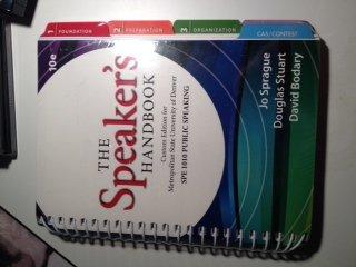 9781285100272: The Speaker's Handbook (SPE 1010 Public Speaking) 10th Edition