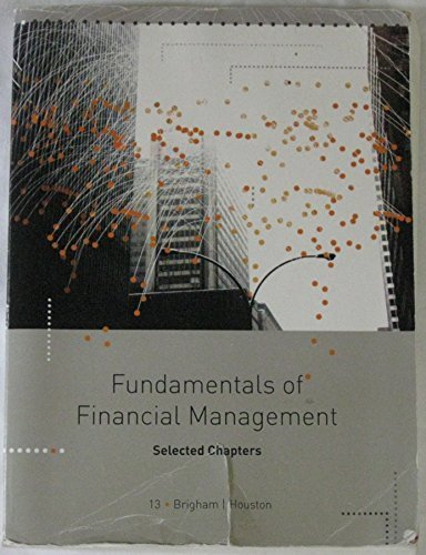 Fundamentals of Financial Management / Selected Chapters