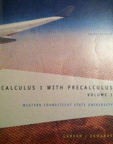 9781285102207: Calculus 1 with Precalculus