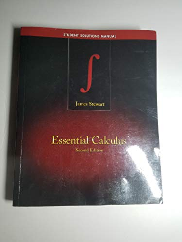 Essential Calculus: Early Transcendentals, 2/e