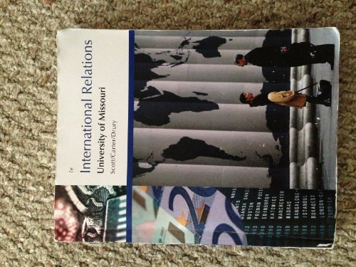 9781285102818: International Relations (International Relations: University of Missouri)