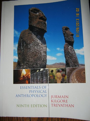 9781285102986: Essentials of Physical Anthropology, 9th ed, Includes Lab Manual by John Kappelman