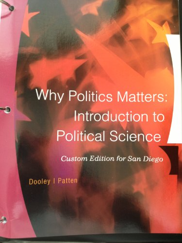 9781285103150: Why Politics Matters: Introduction to Political Science