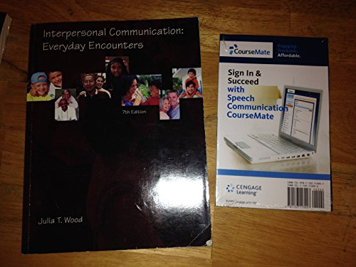 9781285105475: Interpersonal Communication: Everyday Encounters