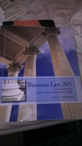 9781285106151: Business Law 205