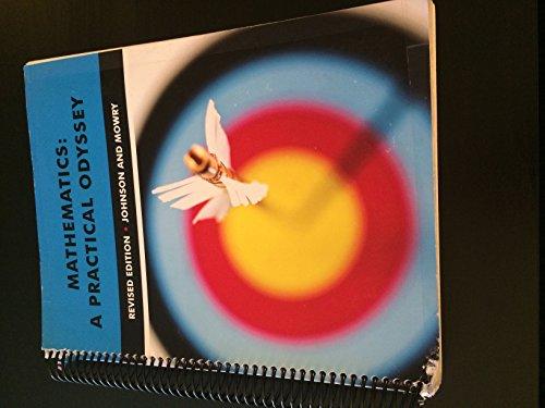 9781285106854: Mathematics: A Practical Odyssey w/ WebAssign
