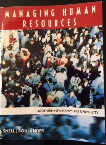 9781285107042: Managing Human Resources (Southern New Hampshire University)