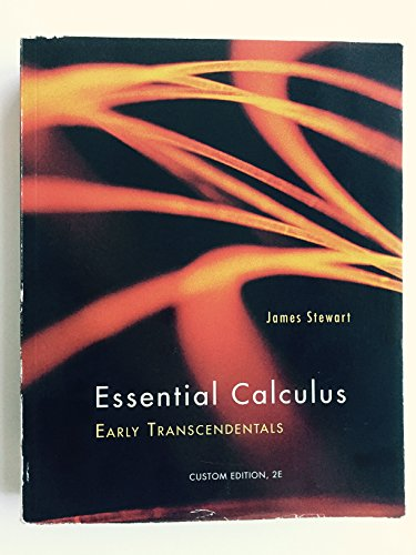 9781285107349: ESSENTIAL CALCULUS:EARLY TRANS.>CUSTOM<