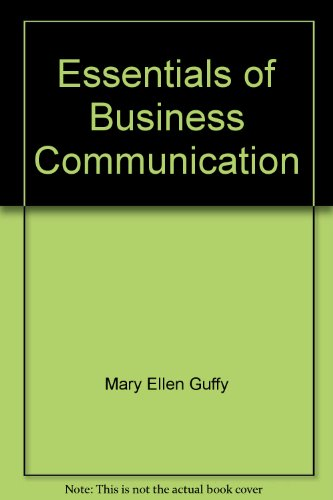 9781285109732: Essentials of Business Communication