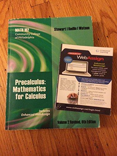 9781285110424: CCP Math 162 Precalculus Textbook - AbeBooks