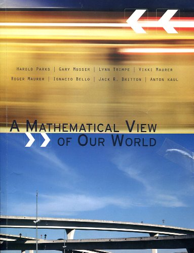 9781285111193: A Mathematical View of Our World