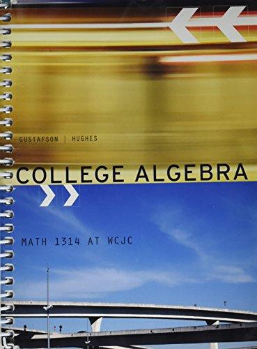 9781285113845: COLLEGE ALGEBRA >CUSTOM<