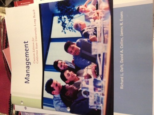 9781285115689: Management (10th Edition) (Custom Edition for California State University of Long Beach)