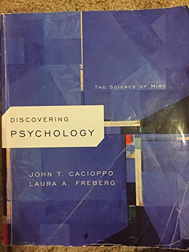 Title: DISCOVERING PSYCHOLOGY >CUSTOM: John T. Cacioppo