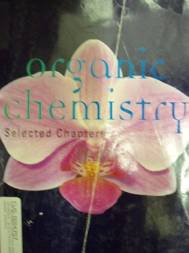 9781285116884: Selected Chapters from Organic Chemistry