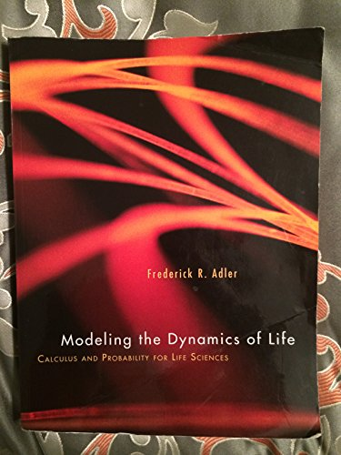 9781285119076: Modeling the Dynamics of Life: Calculus and Probability for Life Sciences