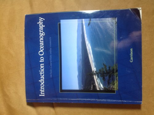 Introduction to Oceanography (9781285120409) by Garrison, Tom
