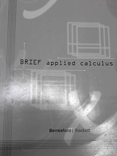 9781285123806: BRIEF Applied Calculus