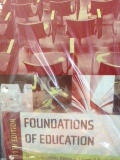 Foundations of Education, Custom Edition: Ornstein; Levine; Gutek