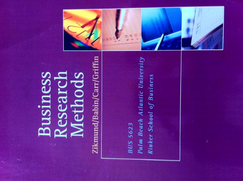 9781285124919: Business Research Methods (Business Research Methods. Ninth Edition)