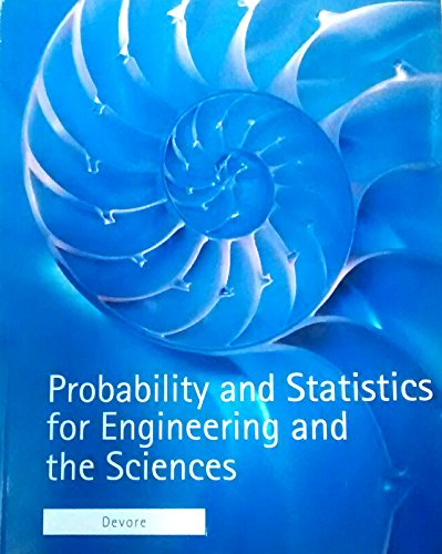 9781285124926: Probability and Statistics for Engineering and the Sciences STAT400 University of Maryland Custom 8th Edition