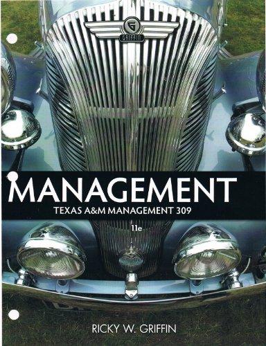 9781285125084: Management (Texas A&M Management 309) 11e