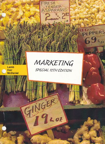 9781285125398: Marketing - Special 12th Edition