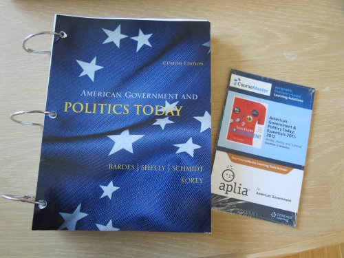 9781285126807: American Governement and Politics Today
