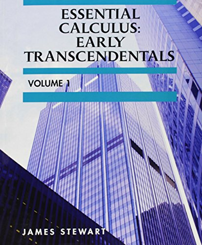 Calculus early transcendentals abebooks custom essential calculus early transcendentals volume 1 fandeluxe Image collections