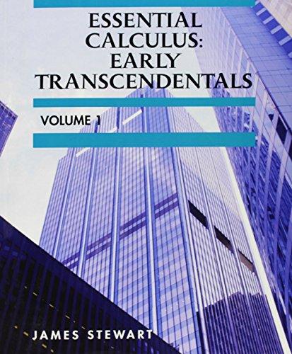 9781285126838: Custom Essential Calculus: Early Transcendentals Volume 1
