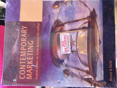 9781285128399: Contemporary Marketing (custom edition for Santa Barbara City College)