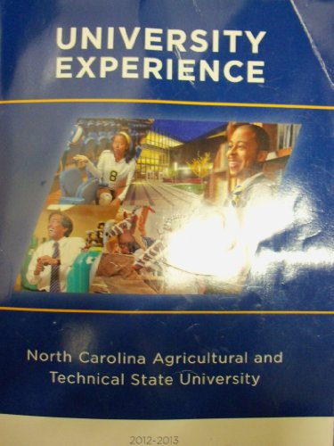 University Experience: North Carolina Agricultural and Technical State University 2012-2013: ...