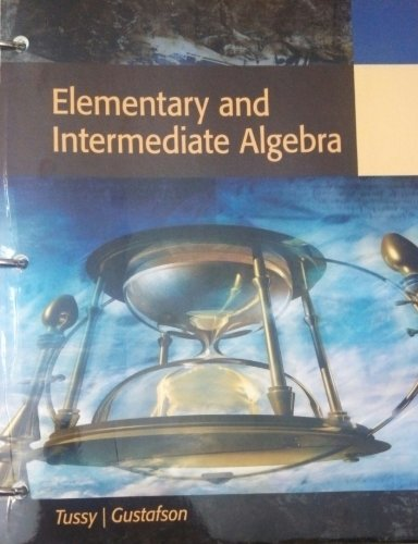 9781285128757: Elementary and Intermediate Algebra