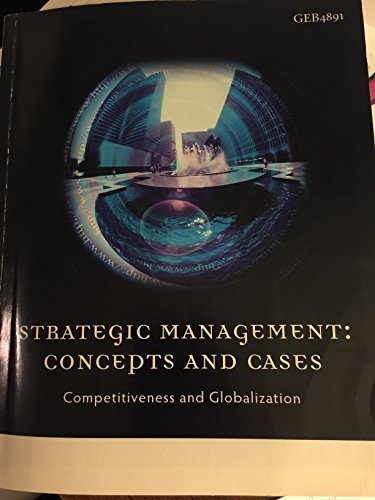 9781285129211: Strategic Management: Conceptes and Cases